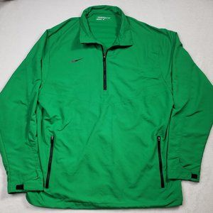 Nike Golf Long Sleeve Qtr Zip Pullover Mens Large